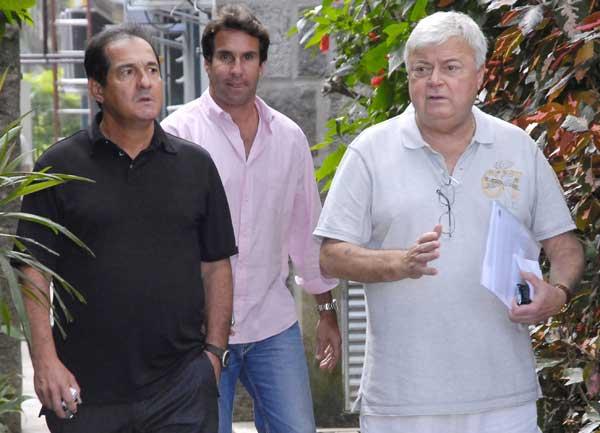莫里西和巴西足协主席特谢拉会面