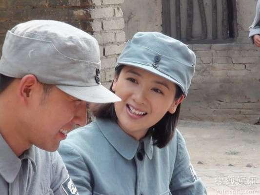 小李琳露招牌式笑容