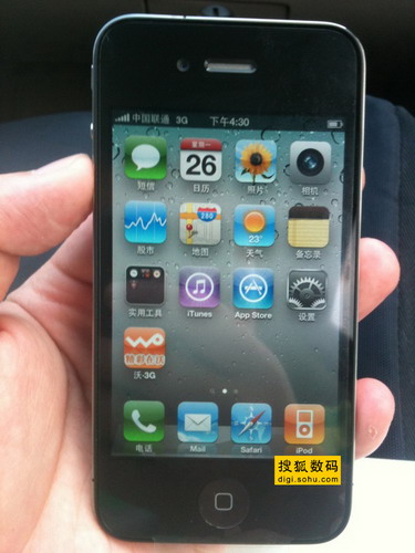 曝光的联通iPhone 4测试机