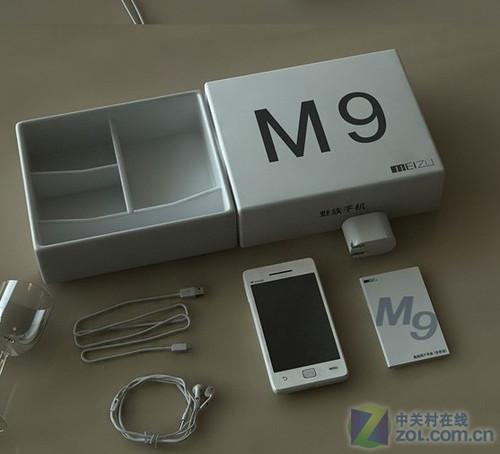 力压iPhone 4 魅族M9多张真机开箱图赏