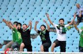 图文:[中超]江苏0-1北京 国安球迷客场助威团