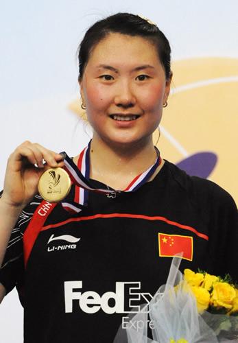2009年世锦赛-卢兰夺得女单冠军