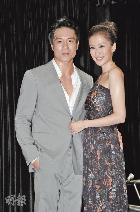 谢婷婷承认男友安志杰到广州相伴,但没有到片场探班