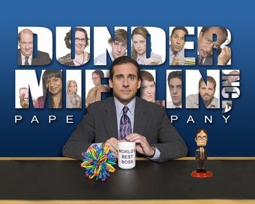 图:喜剧类最佳剧集――《办公室》