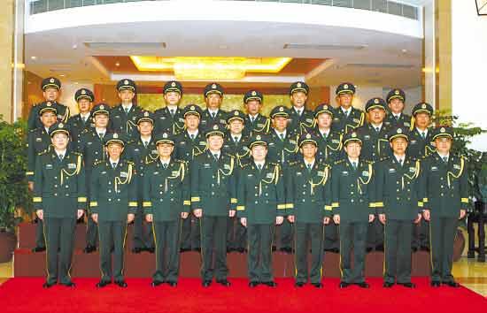 广州军区17军官晋升少将 经由中央军委批准(图)