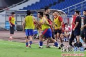 图文:[中超]重庆1-0河南 力帆庆祝胜利