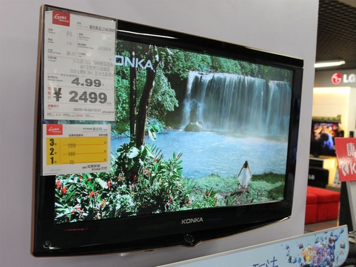 经济实惠 康佳LC24GS80DC液晶电视破2K