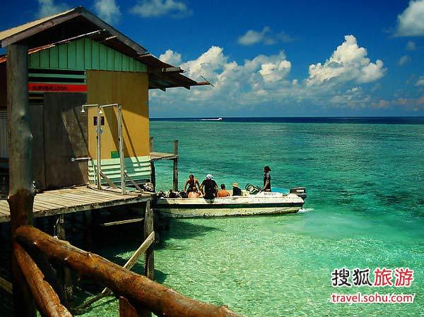潜水圣地诗巴丹岛