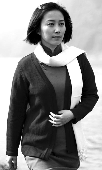 电视剧《江姐》中丁柳元饰演江竹筠-江姐 热播 江姐全名被叫错引争议