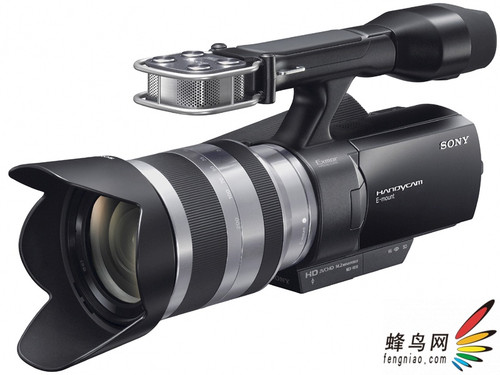 跨界新品 索尼发布APS-C画幅可换镜头DV