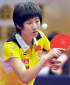 图文:乒联青少年巡回赛战况 中国队选手郑诗畅