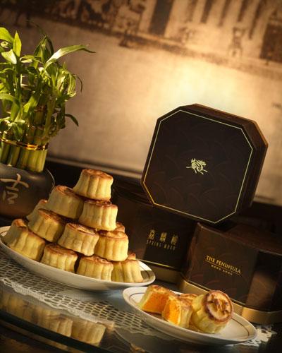 香港半岛酒店月饼 马拉松 日产一万二千个