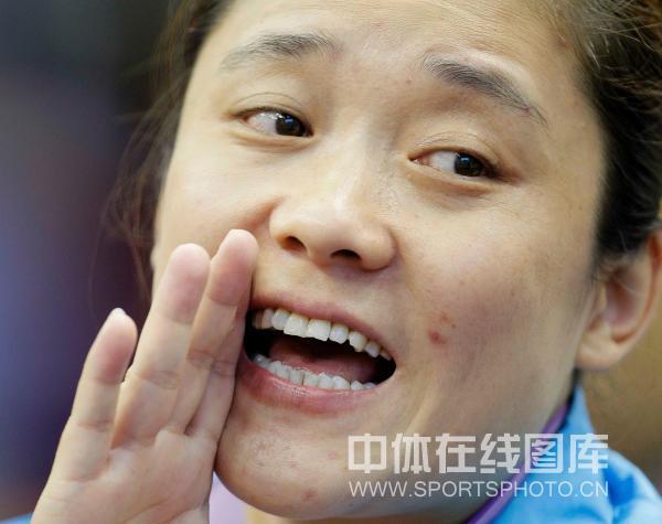 图文:[乒超]北京女团VS内蒙古 内蒙古教练刘伟