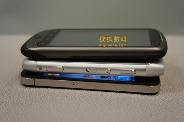 诺基亚N8贴身对比iPhone 4和Nexus One (5)