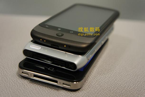 诺基亚N8贴身对比iPhone 4和Nexus One (7)