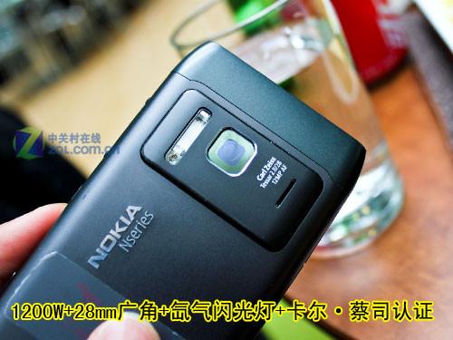 绝对靠谱的说 诺基亚N8-00真机实拍图赏