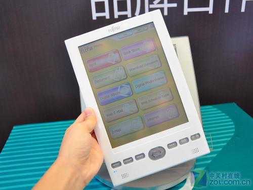 真正的电子纸彩屏 富士通电子书实机曝光