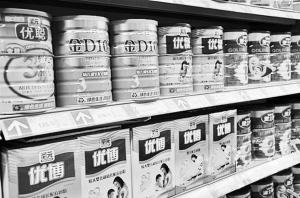 ■被质疑的奶粉。(资料图片)