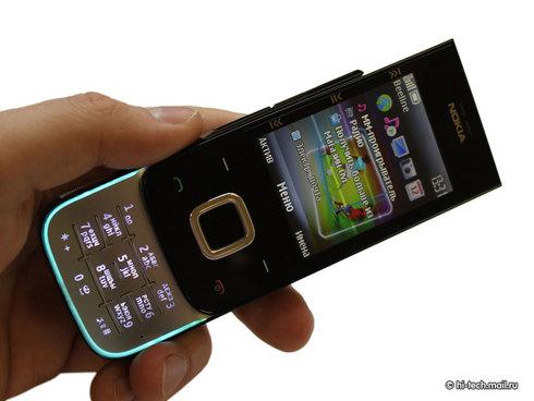 千元级音乐滑盖手机 诺基亚5330美图赏