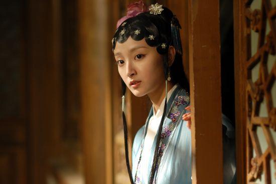 《红楼梦》将播 宝琴殷叶子拜见贾母周采芹图片