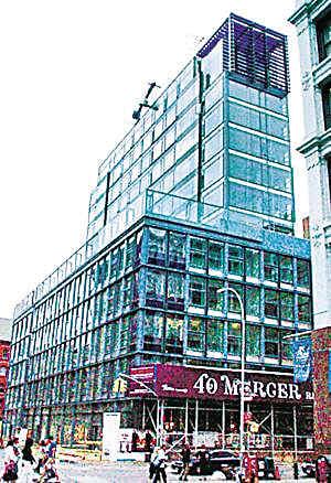 """丹尼尔买的公寓""""Mercer 40""""号称是纽约SOHO区的新地标"""