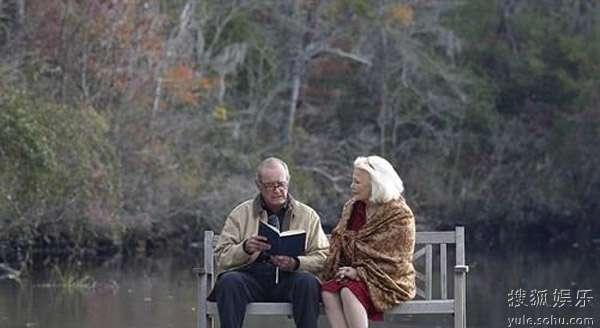 《戀戀筆記本》老年溫情照圖片