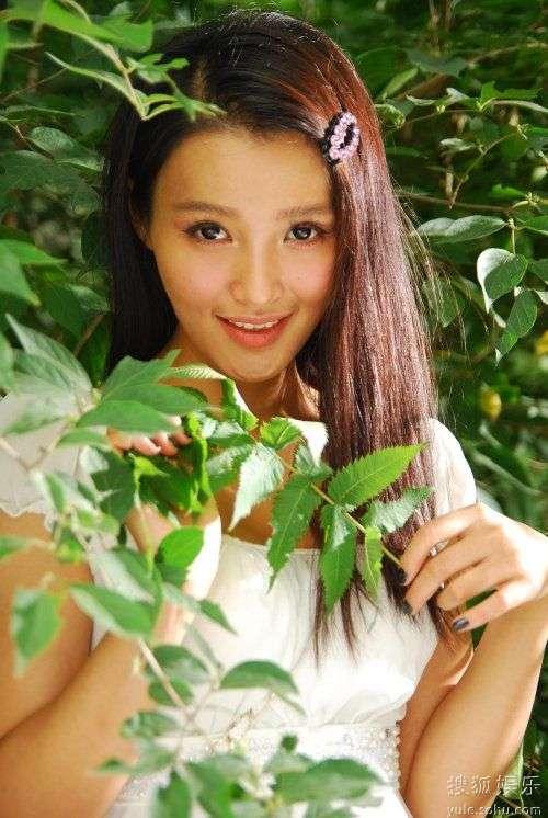 青年演员白庆琳
