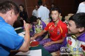 图文:中国公开赛抽签现场 王励勤领衔主力