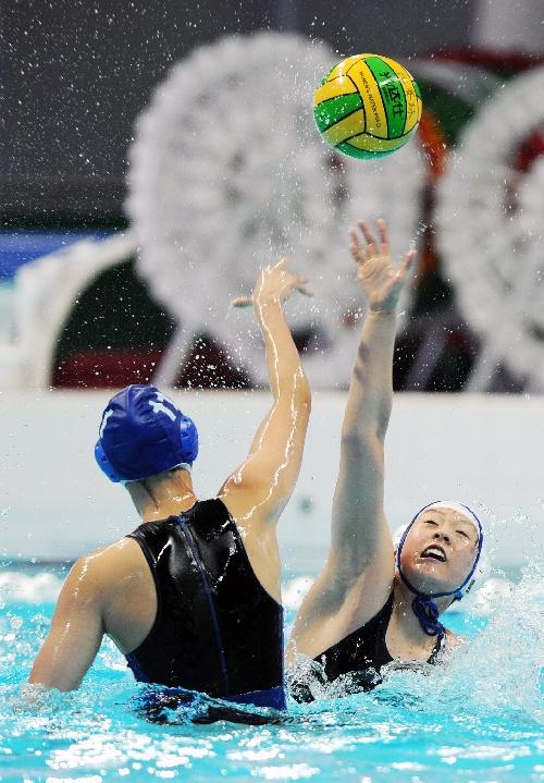 图文:水运情况开赛安徽队水球在比赛中防守射箭胜负相同积分下如何定球员图片