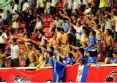 图文:[中超]长沙VS重庆 球迷激动