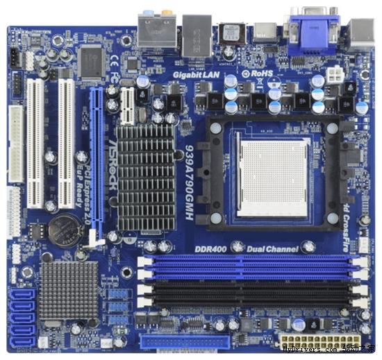 华擎继续雷人:790GX芯片组配939处理器