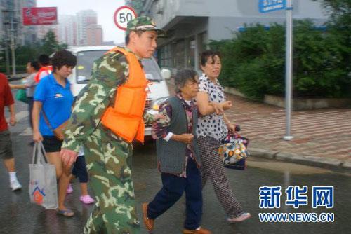 鸭绿江丹东段发生特大洪水,每秒流量超过2万立方米
