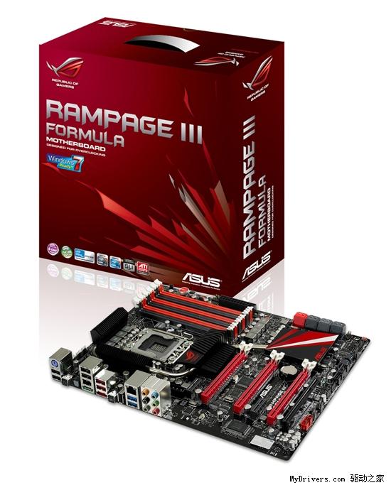 游戏玩家专用:华硕正式发布Rampage III Formula