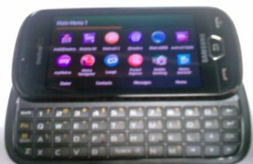 侧滑全键盘 三星LTE准4G手机照片曝光