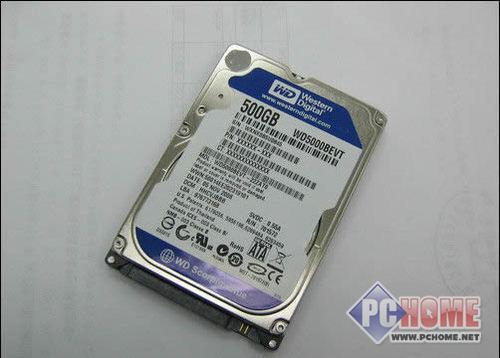 点击查看本文图片 WD 500GB 5400转 8MB(串口/笔记本) - 功耗仅2.5W 西数500G本本硬盘仅355元
