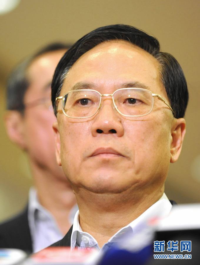 图文:曾荫权对香港游客在菲遇害感到十分悲伤