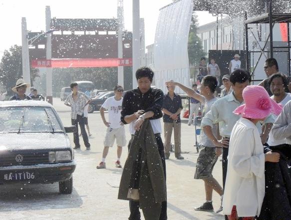 张国强雪中戏拍摄艰辛