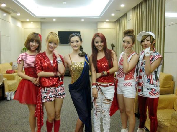 Lotte Girls与拉丁舞后刘真