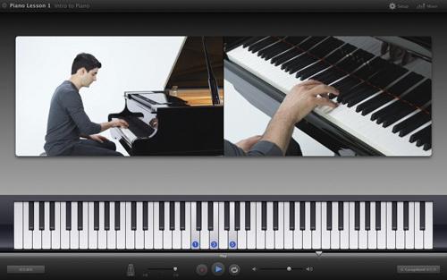 而乐器教学功能可以很让用户跟着电脑慢慢学习演奏