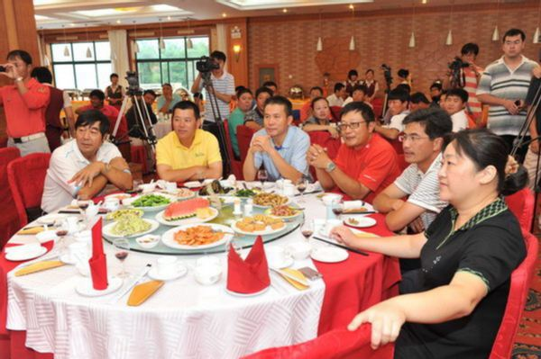 图文:职业锦标赛烟台站 欢迎晚宴现场嘉宾