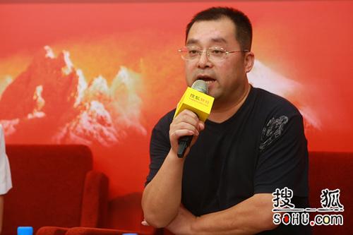 全国工商联房地产商会理事陈宝存(搜狐-王玉玺/摄)