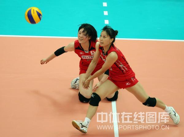 图文:日本女排3-2意大利 日本队状态不俗