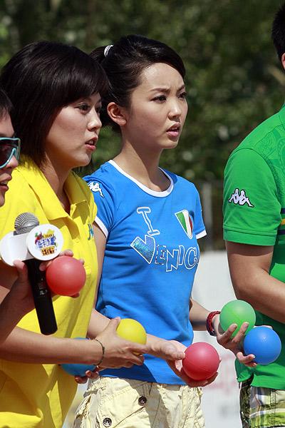 北京体育频道女主持人_这名北京卫视的女主持人几分