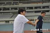 图文:[中甲]东亚4-1中邦 范志毅申思哥俩好