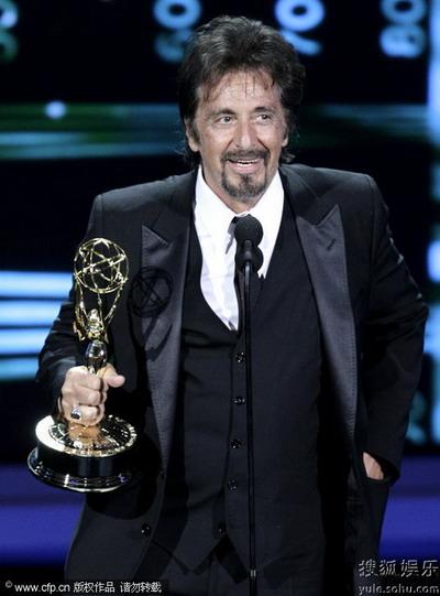 阿尔-帕西诺获电视电影类最佳男主角奖