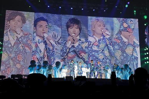 SMAP演唱会现场照