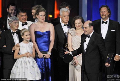 艾美奖落幕 《广告狂人》第三次获得最佳剧情类剧集