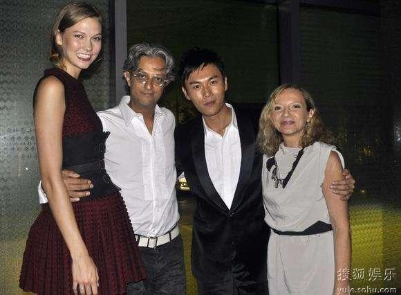 名模Karlie Kloss、摄影师Max、秦昊、Nicoletta