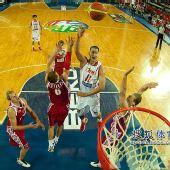 图文:[男篮世锦赛]中国负俄罗斯 易建联抛投