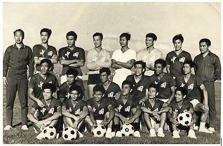 1976年,中国0-2伊朗